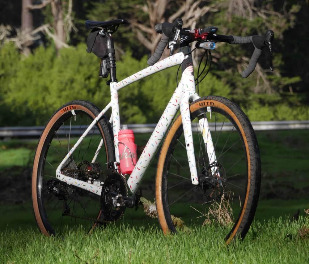 Angelo's painted bike
