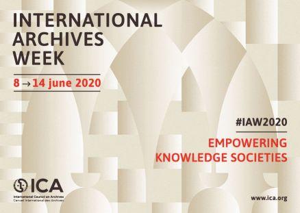 international archives week June 8-14, 2020
