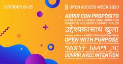 2020 Open Access Week Banner
