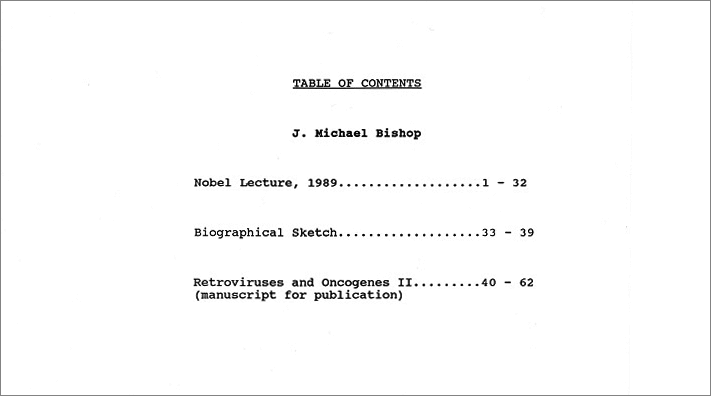 nobel lecture notes