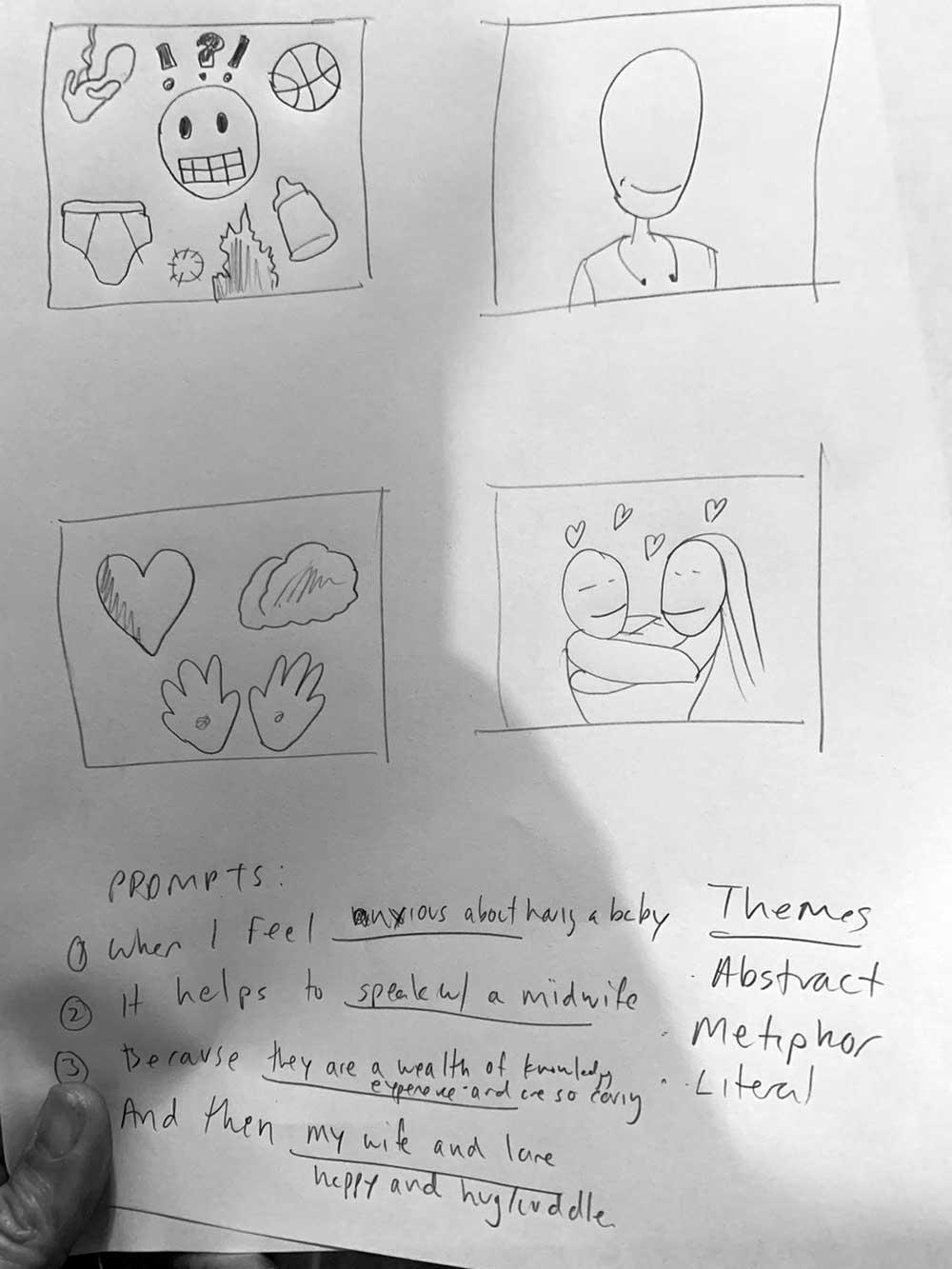 Participant's comic two