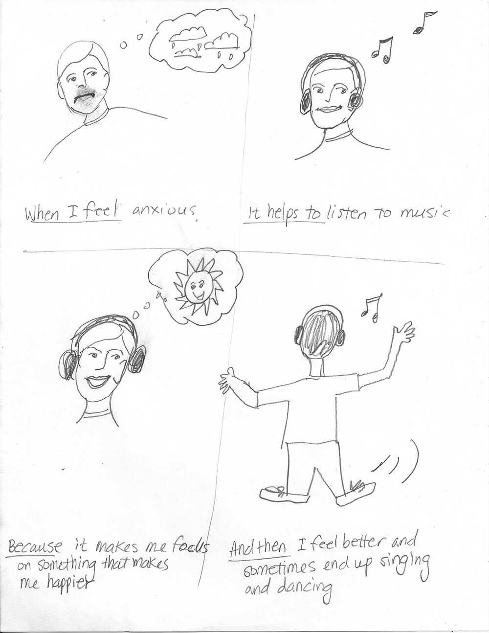 Participant's comic three
