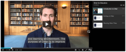 CLE video playlist Otter tutorials