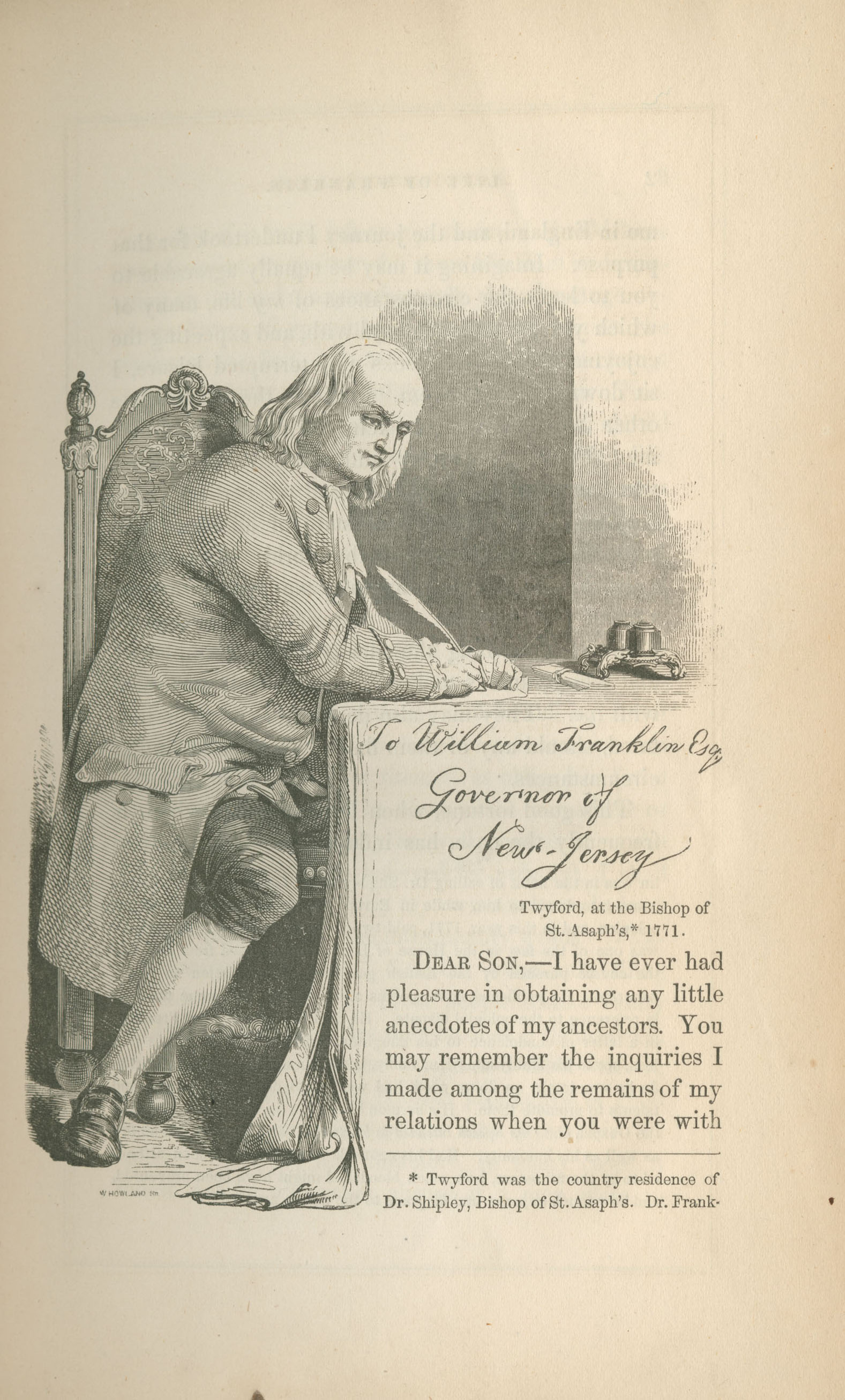 Benjamin Franklin Writer And Printer From Memoirs To