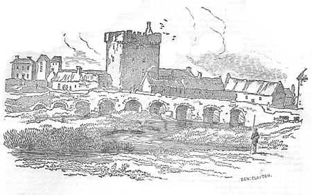 The Bridge and Castle of Shruel or Shrule, County Mayo