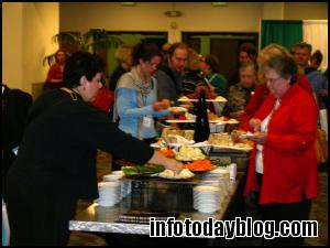 As always, the food lines were highly popular!