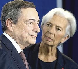 Draghi e Lagarde