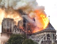 Il rogo di Notre-Dame de Paris