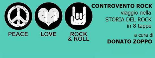 Controvento Rock viaggio nella storia del rock a cura di Donato Zoppo libreria controvento telese terme