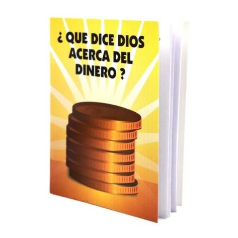 Folleto que dice Dios acerca del dinero