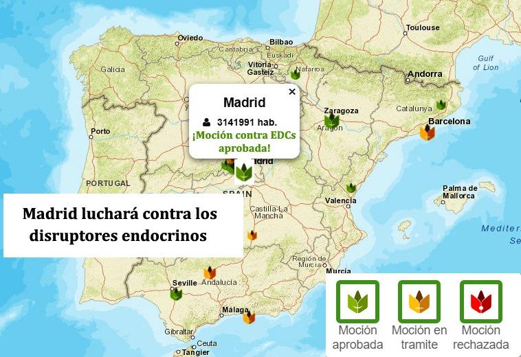 Madrid dice no a los disruptores endocrinos