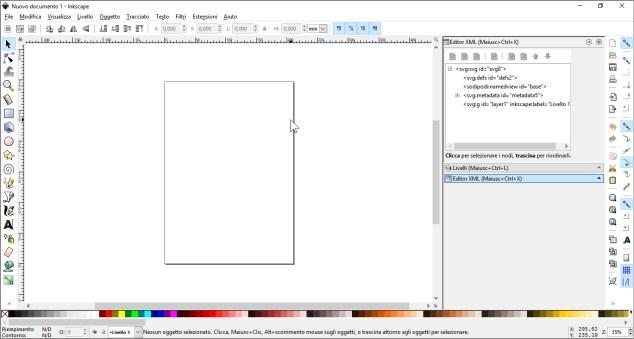 Icone ridimensionabili per Freeplane: l'ambiente di Inkscape