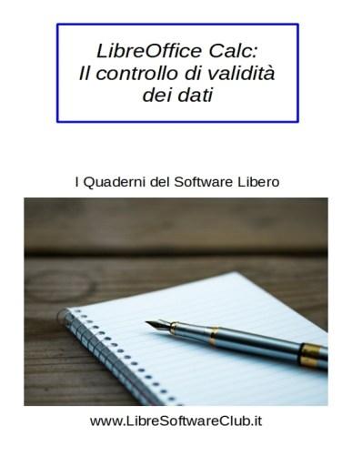 il controllo di validità dei dati in lo Calc