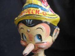 Libri vintage per l'Infanzia - Pinocchio
