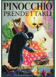 Libri Vintage per l'Infanzia | Pinocchio prende i tarli