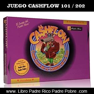 Juego Cashflow 101 / 202 en español, ideado por Kiyosaki