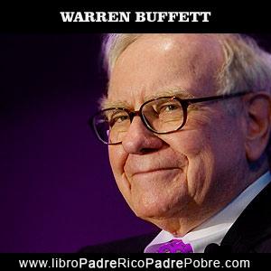 Warren Buffett, inversor, empresario, millonario, admirado por Robert Kiyosaki en Padre Rico Padre Pobre