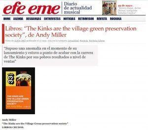Efe Eme reseña 'Village green'