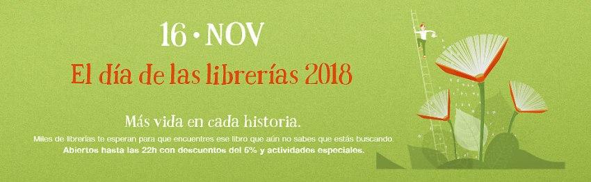 Cartel del Día de las Librerías 2018