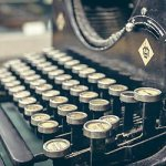 icono máquina de escribir