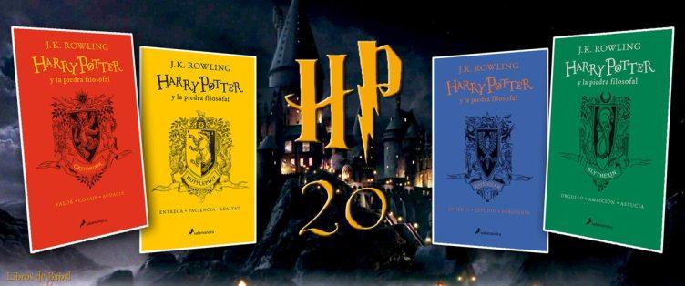 Harry Potter 20 años en español