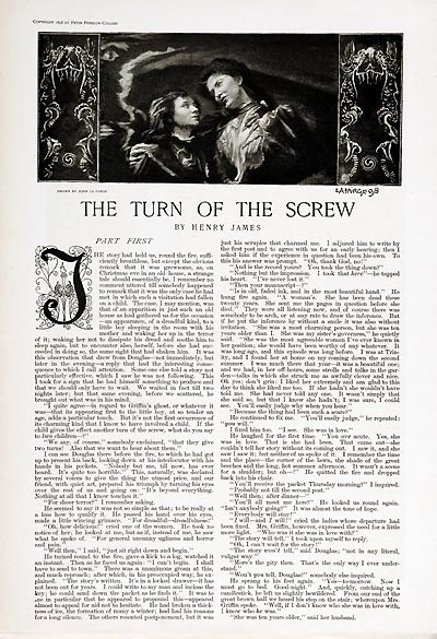 The Turn of the Screw - Collier's Weekly