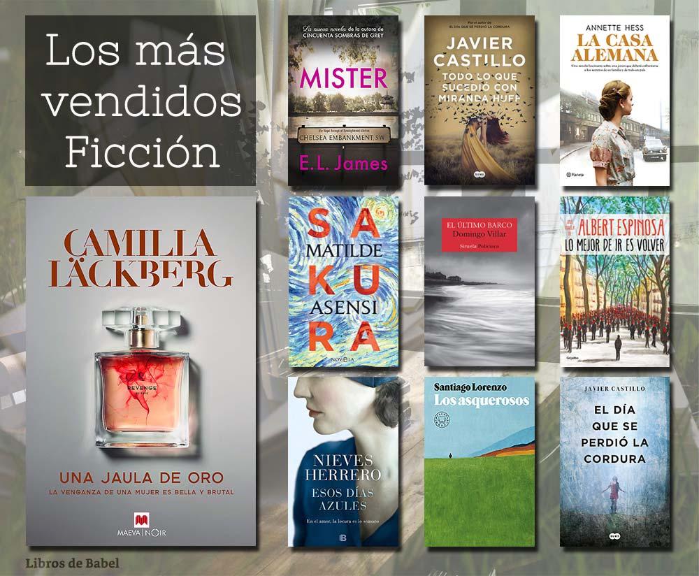 Libros más vendidos del 6 al 12 de mayo de 2019