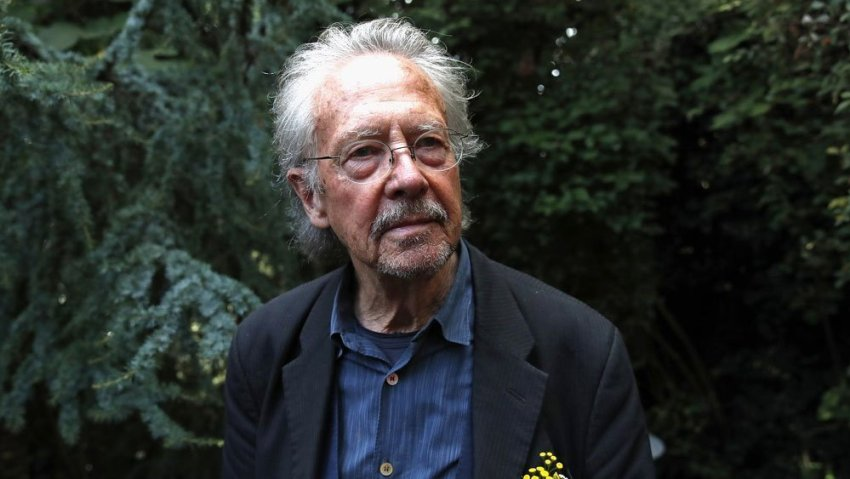 El escritor austríaco Peter Handke.