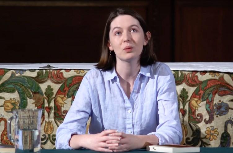 La escritora Sally Rooney