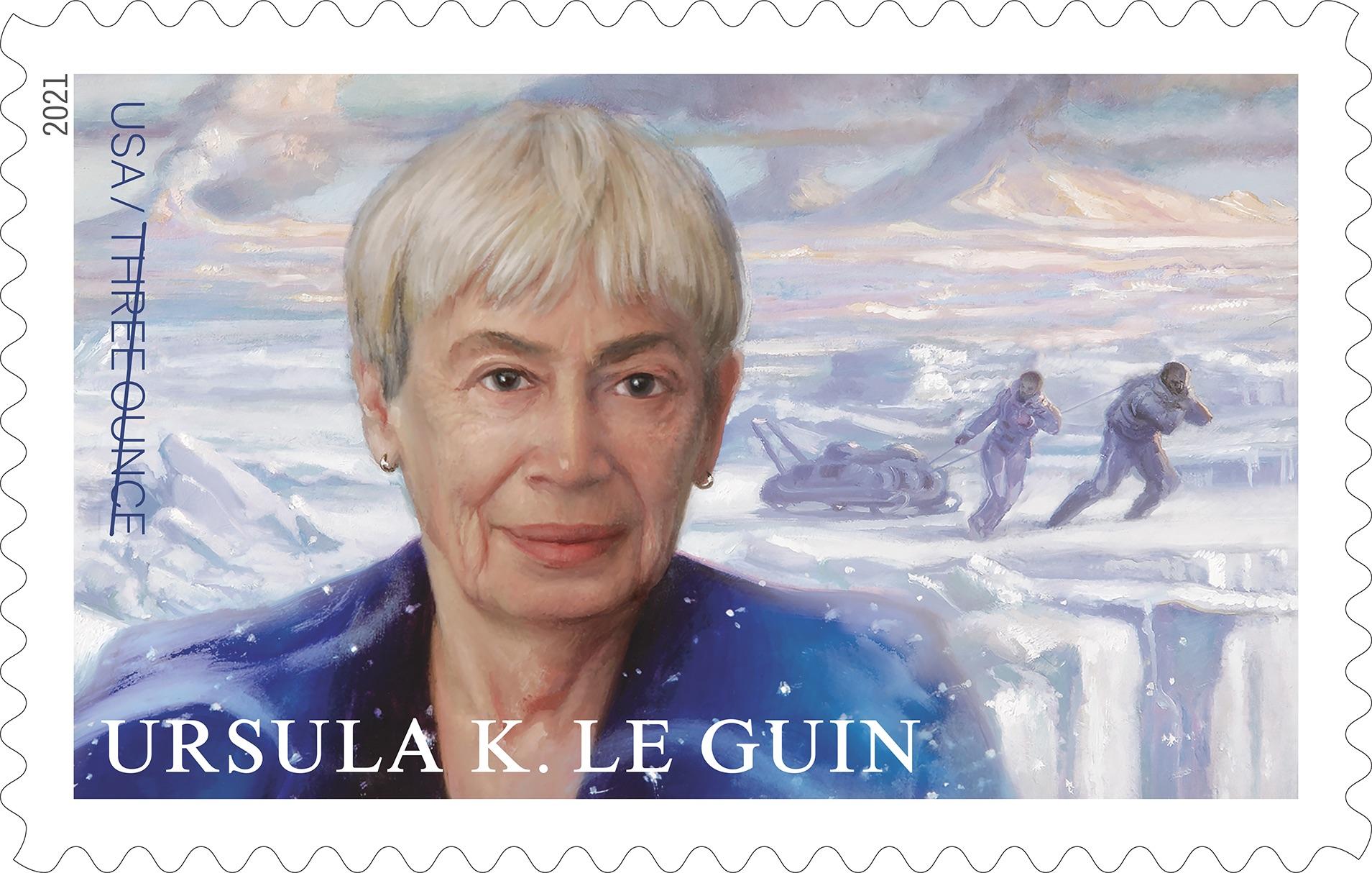 Ursula K. Le Guin tendrá su propio sello de correos, homenaje del Servicio Postal de Estados Unidos
