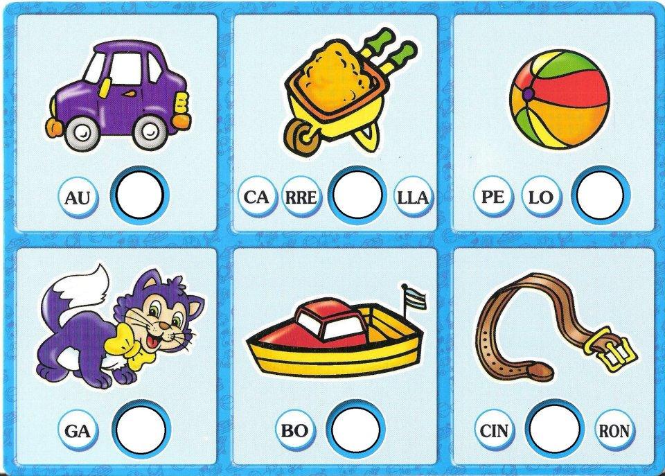 Aprender sílabas que empiezan por T