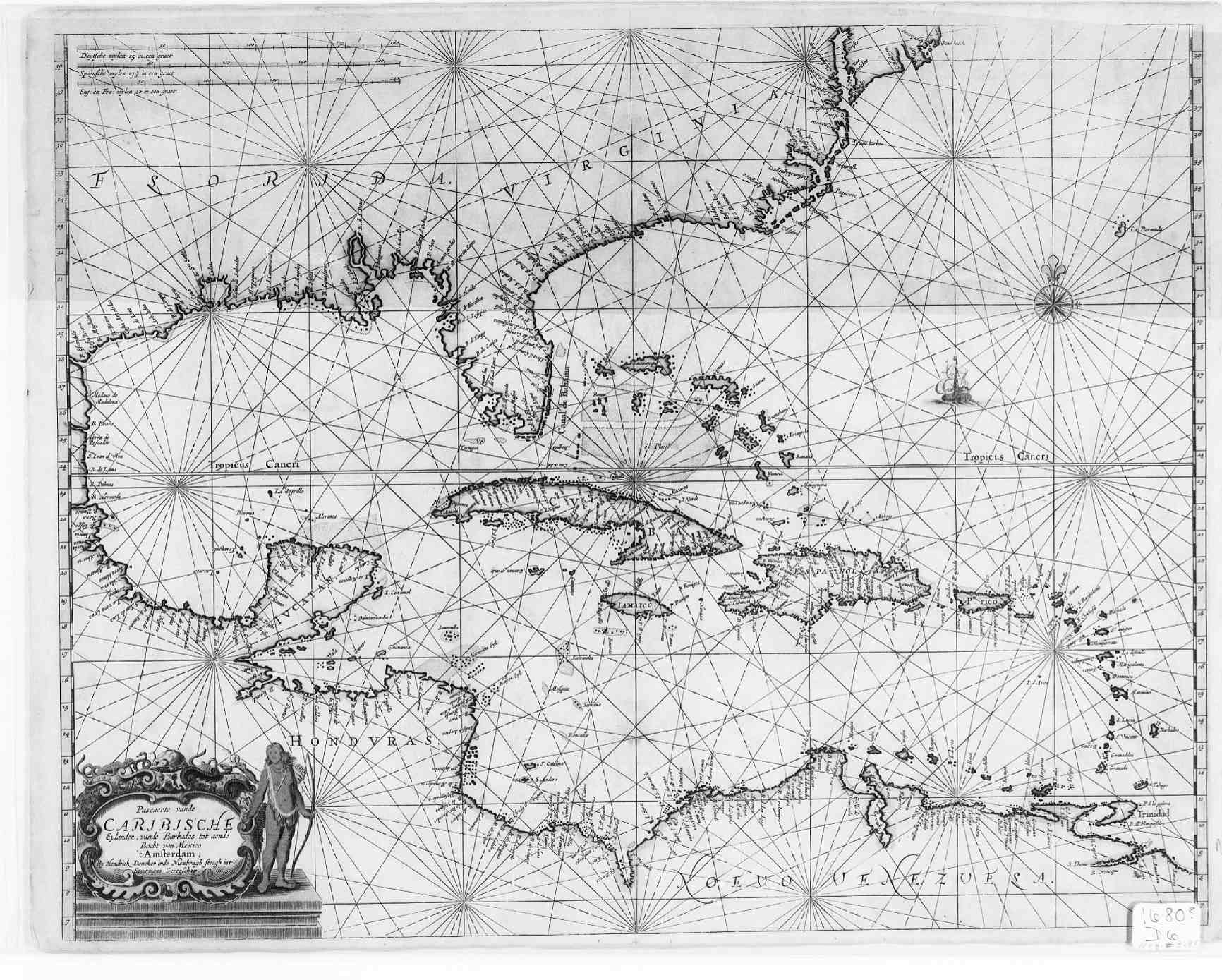 Map England Frederick