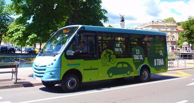 Mini bus autotrolej