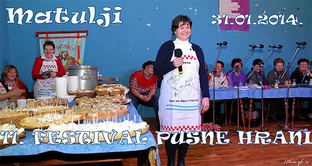 11. festival pusne hrani