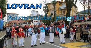 Lovran karnevalska povorka