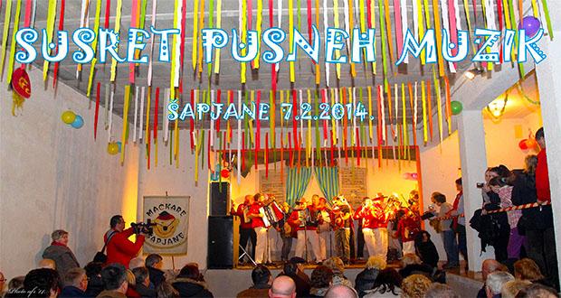 Susret pusne muzike Šapjane 2014