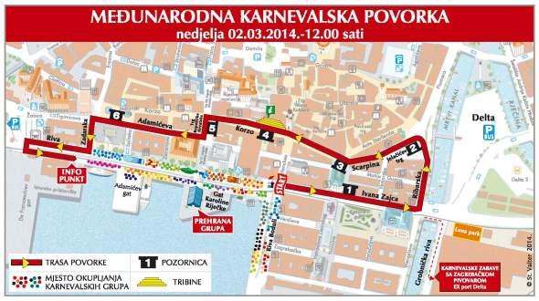 Karneval Rijeka 2014 PROMET