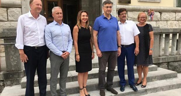 Premijer Andrej Plenković u posjetu Opatiji