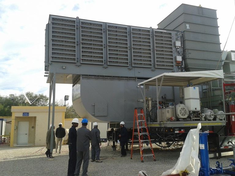 Gnerator Unit for Zawia power station