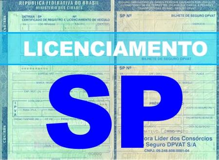 Licenciamento SP 2016