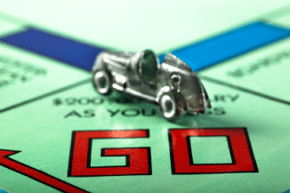 Save The Monopoly Race Car