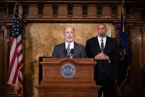 PA Governer Tom Wolfe and Fetterman talking about legalizing drugs in PA