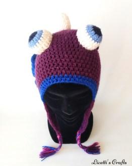 Gorro lana alpaca unicornio