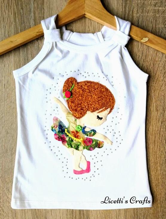 camiseta pima cotton tirante Isabella