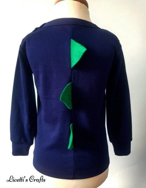 camiseta manga larga algodón pima peruano púas relieve