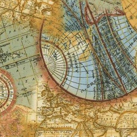tejido regalos personalizados mapa mundi