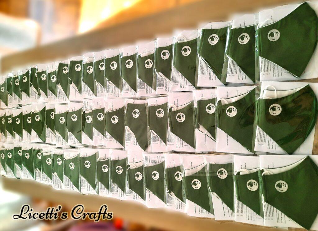precios especiales mascarillas higienicas personalizadas logo bordado