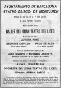 1966-07-02/03/05/06/07-Ayuntamiento de Barcelona-1966-07-Ayuntamiento de Barcelona-Teatro griego de montjuich-dedicada a la Marina española, con motivo de la I Semana Naval en Barcelona