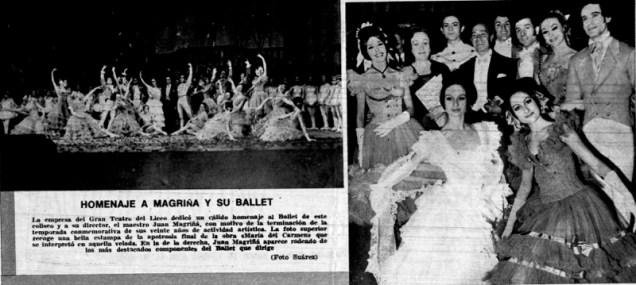 1971-Homenaje a Magriña y su ballet