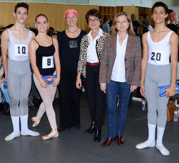 2015 - Participació com a jurad de les Beques de la Federació Catalana de Professors de Dansa- Deborah Collins-C.Cavaller-M.Nuñez